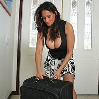 Latina MILF Ava Lauren got her boobs jizzed after hardcore action  906292